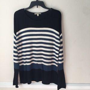 41 Hawthorn Striped Crewneck Sweater
